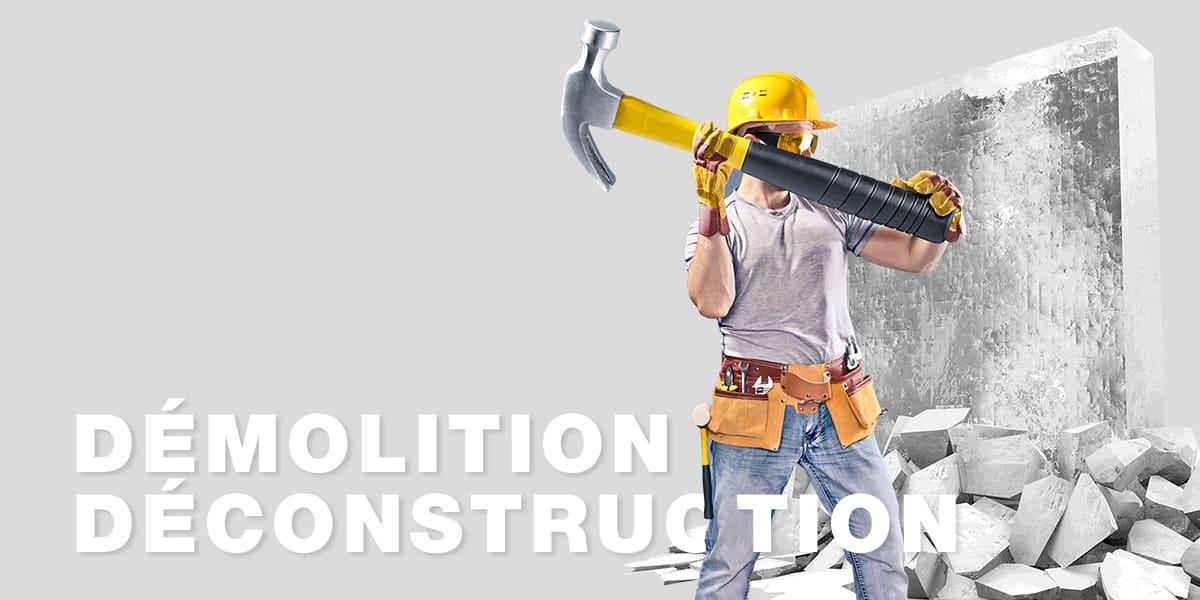 Demolition et deconstruction à Paris et IDF