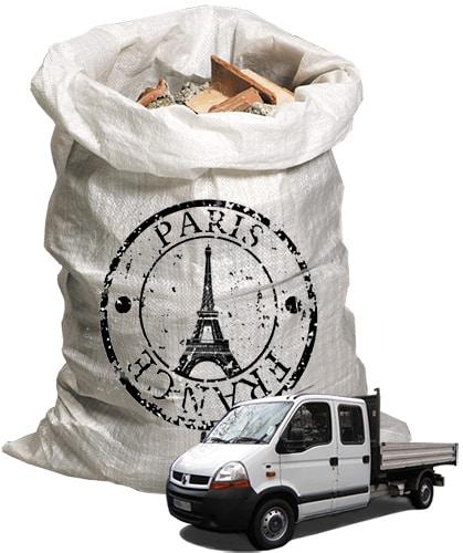 Paris - débarrasser les gravats