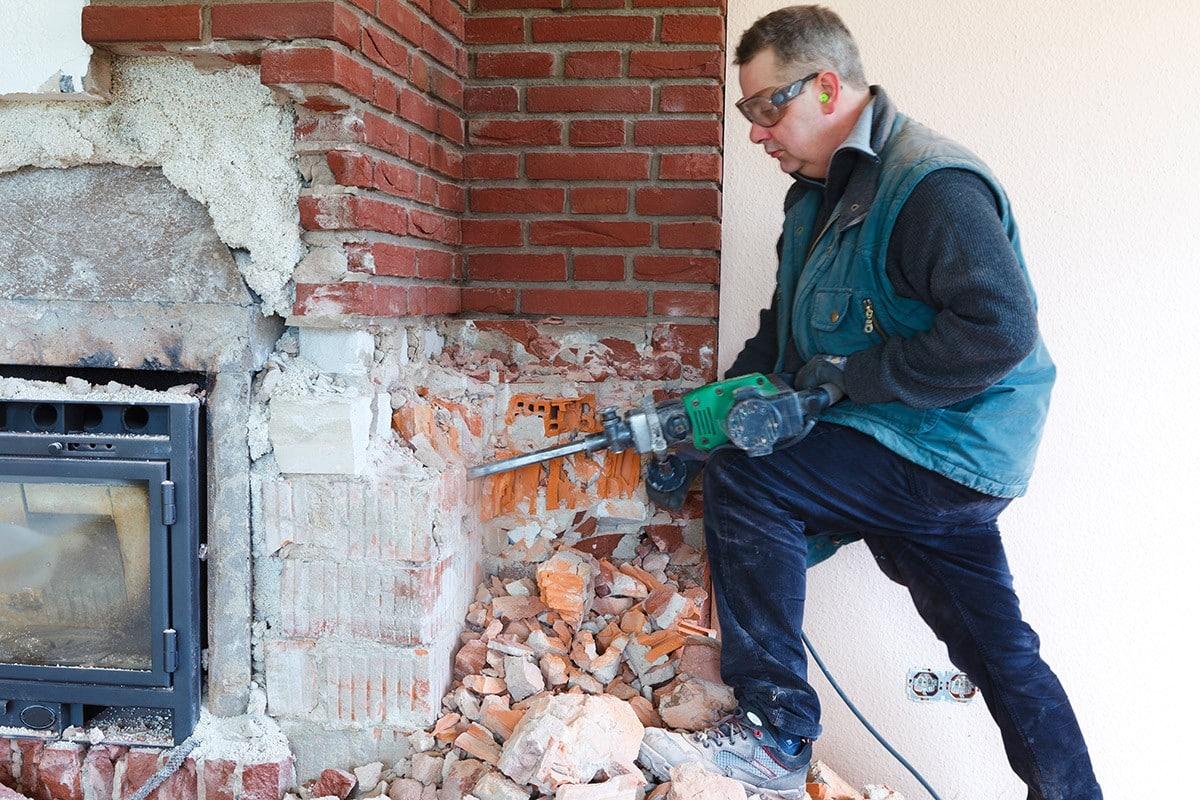 Demolition et deblaiement en Saint-Denis, 93